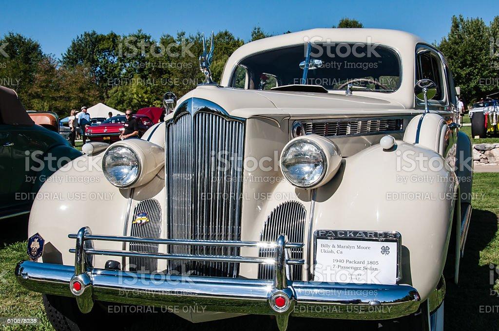 Packard Limousine stock photo