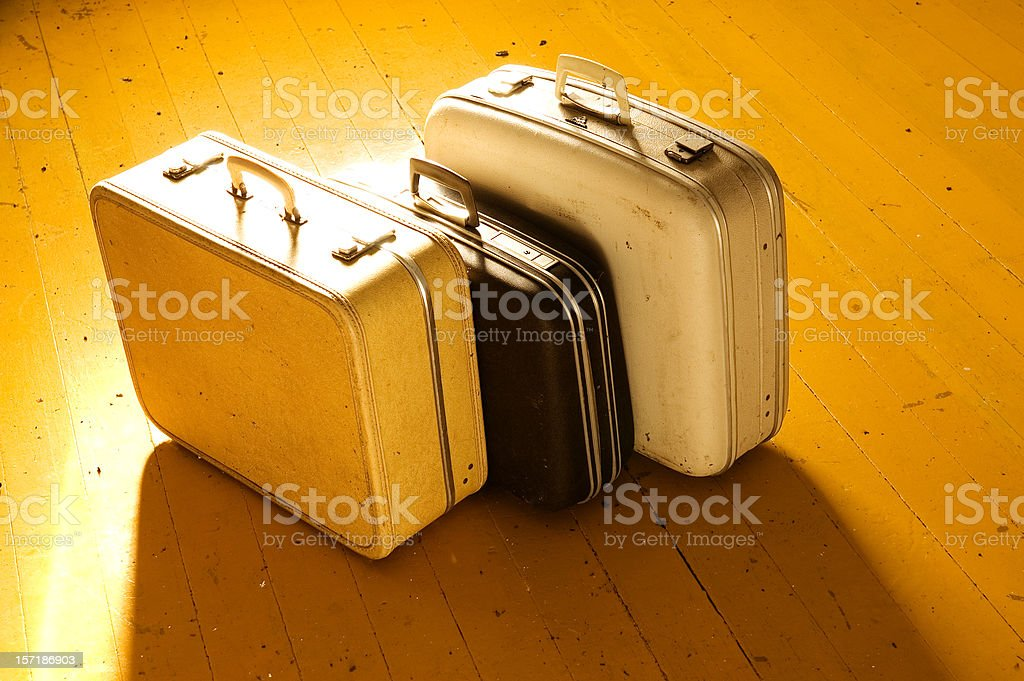 Packed Luggage royalty-free stock photo