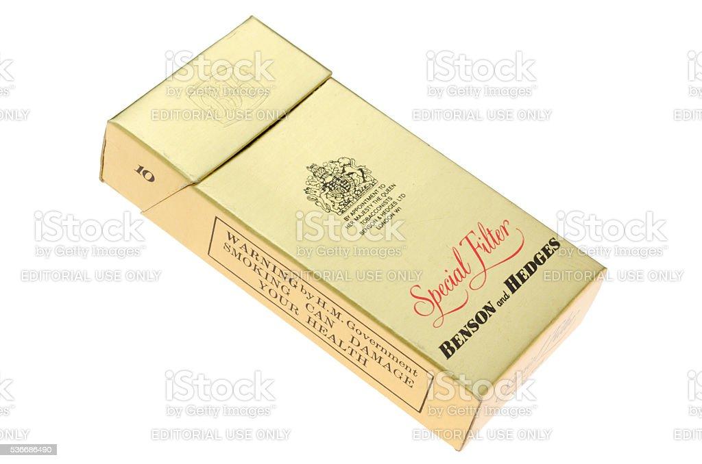 Fotografía de Paquete De 10 Benson Y Coberturas De Cigarrillos y más ...