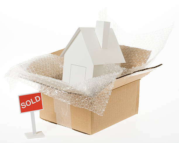 Packing house stock photo