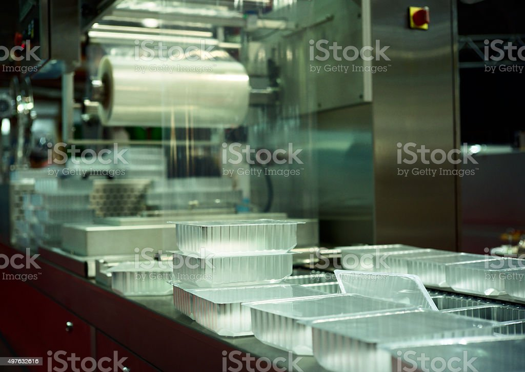 Packing Machine stock photo