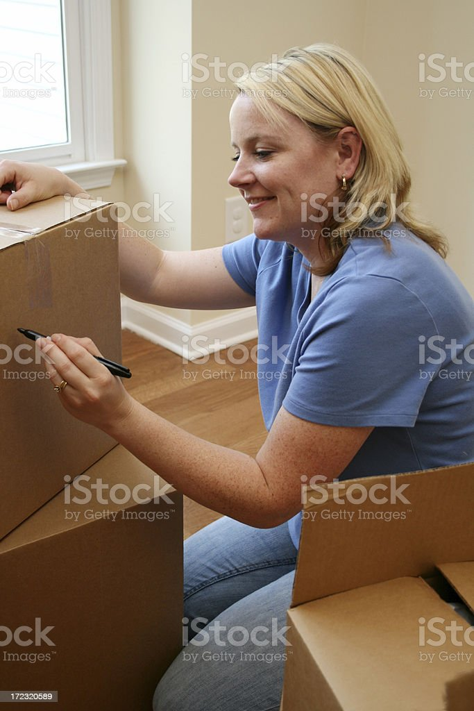 Packing Up royalty-free stock photo