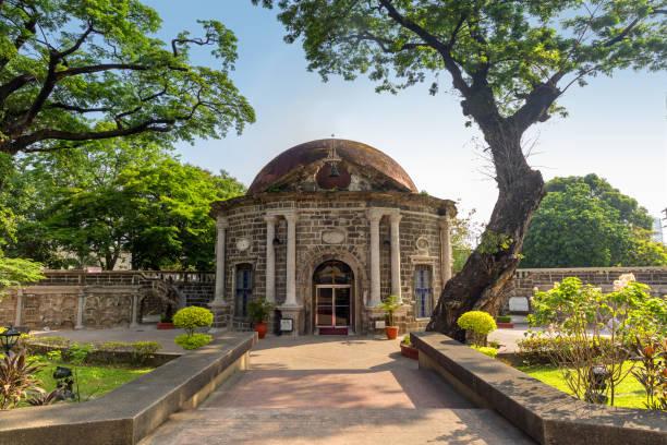 Paco park, Cementerio General de Dilaoin in Manila stock photo