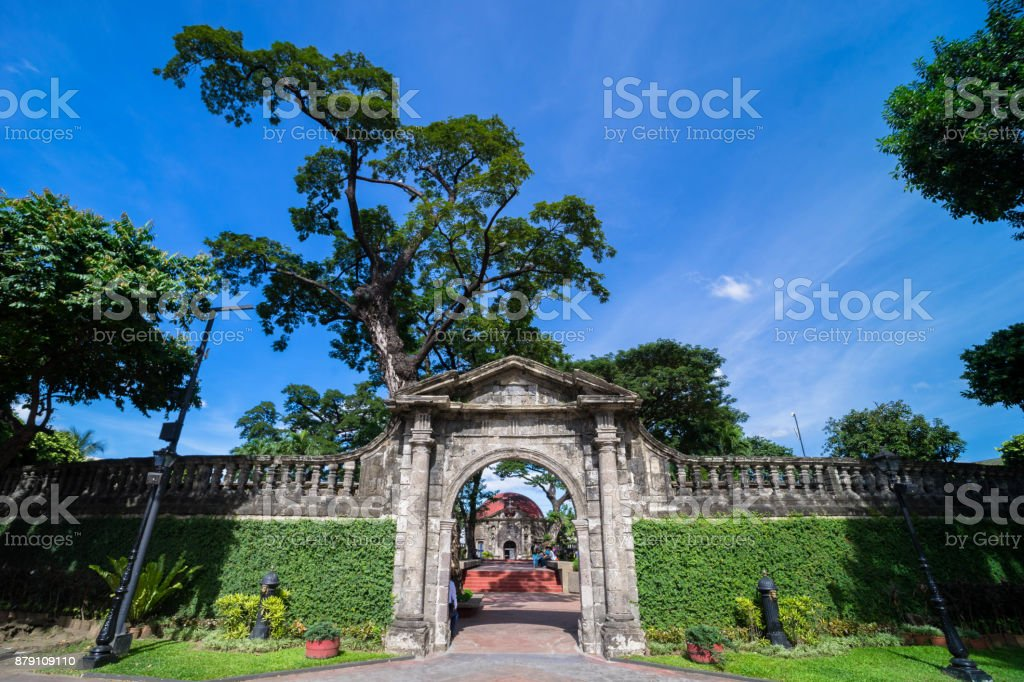 paco park stock photo