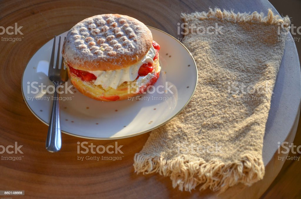 Paczki Polish Pastry stock photo