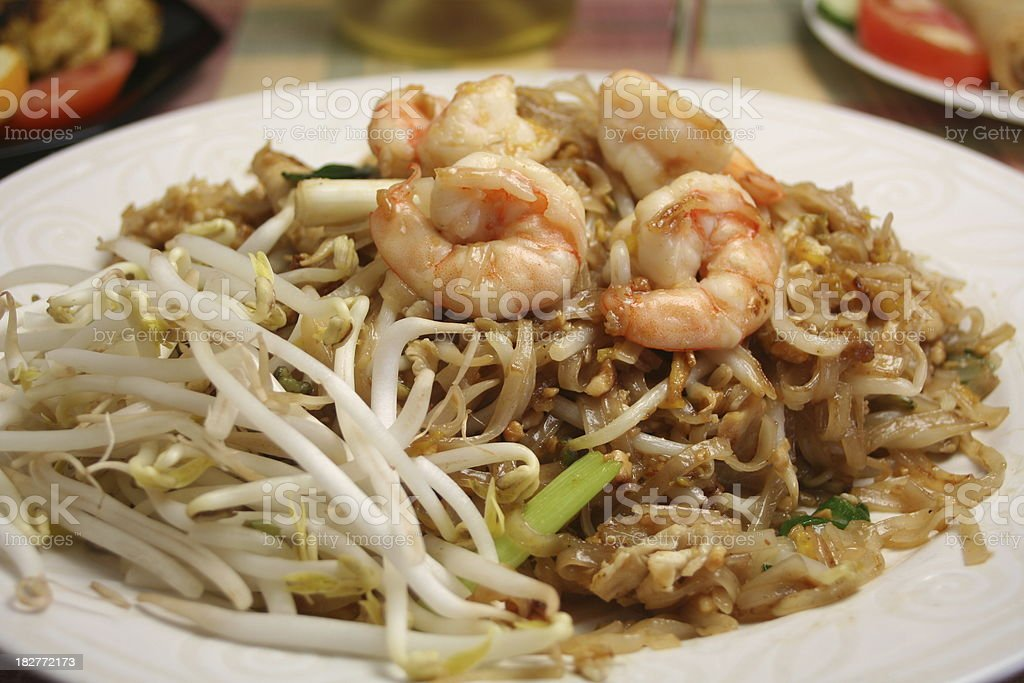 Pad Thai royalty-free stock photo