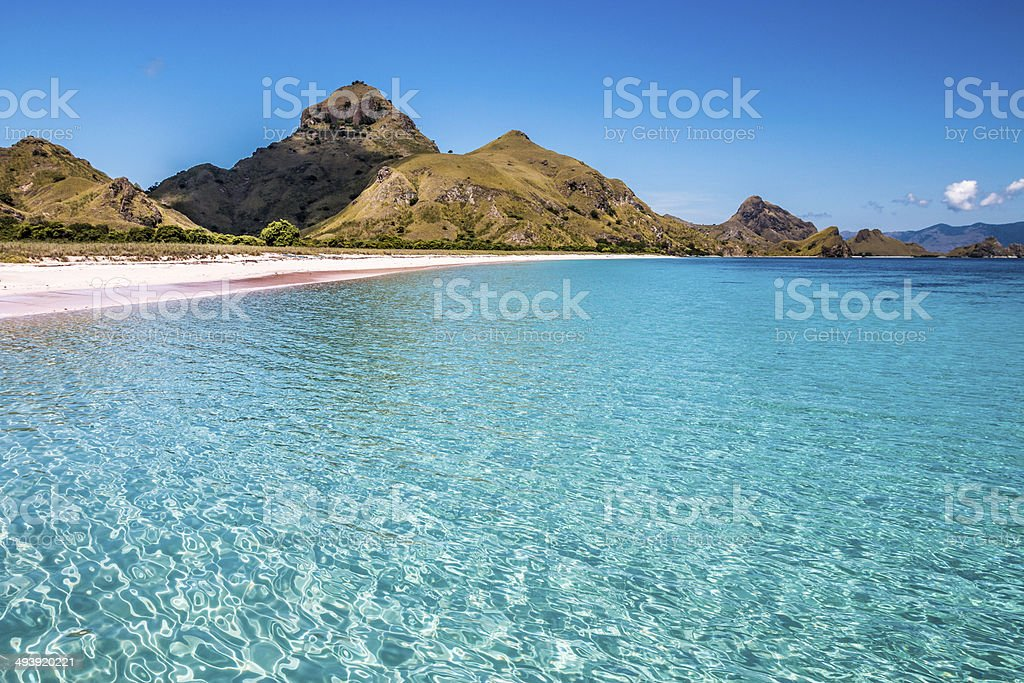 Padar Island, Komode, Flores Indonesia stock photo