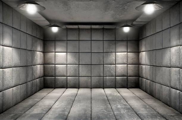 cellule sale matelassé - hopital psychiatrique photos et images de collection