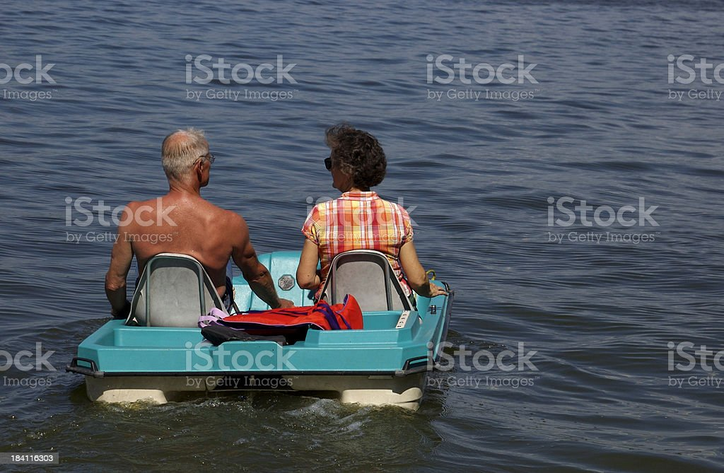 paddle to the sea stock photo