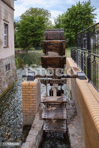 Old watermill in Lindow, Brandenburg