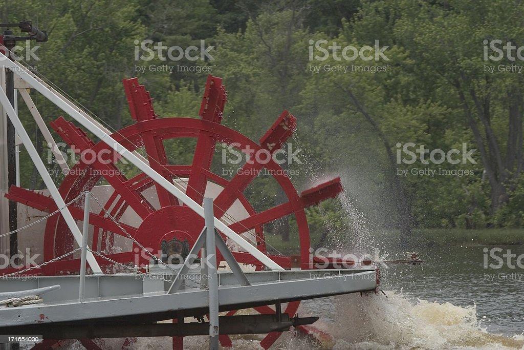 Paddle Wheel royalty-free stock photo