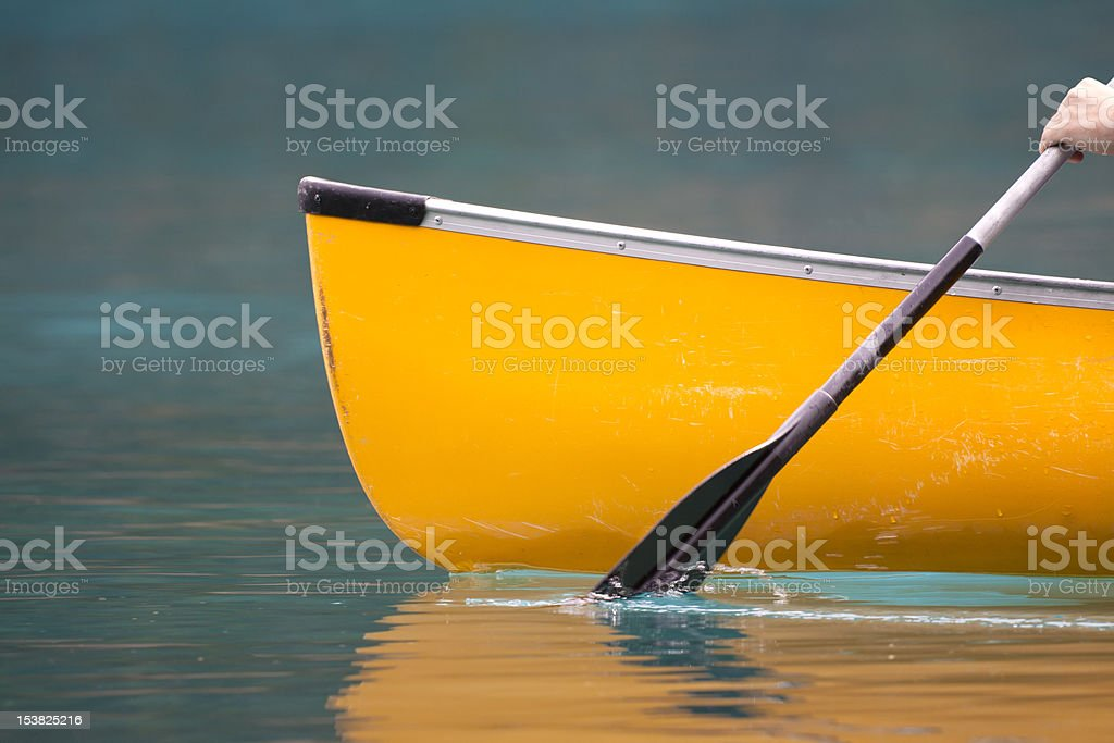 Paddle Your Own stock photo