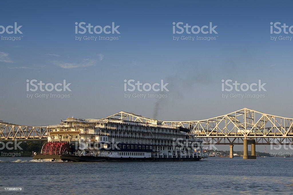 Paddleboat royalty-free stock photo