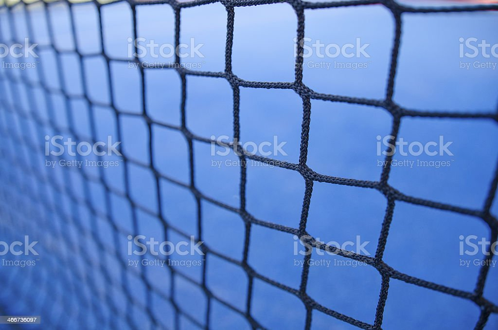 paddle-tennis or tennis net stock photo