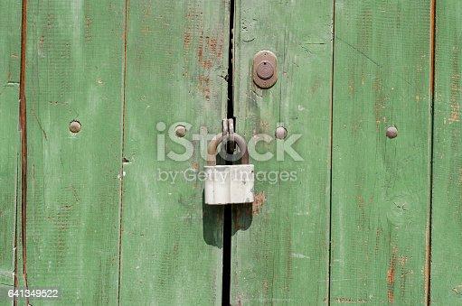 1178501072istockphoto padlock on a wooden old door 641349522