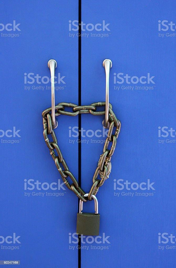 padlock stock photo