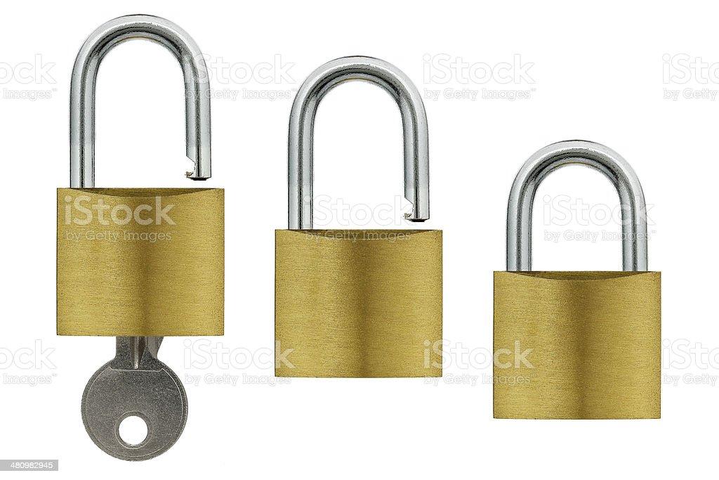 padlocks stock photo