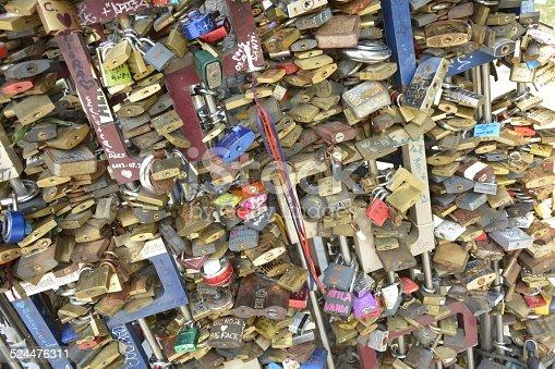Some padlocks