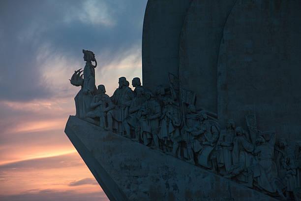 Padrão dos Descobrimentos (Monument to the Discoveries), Belém, Lisbon, Portugal stock photo