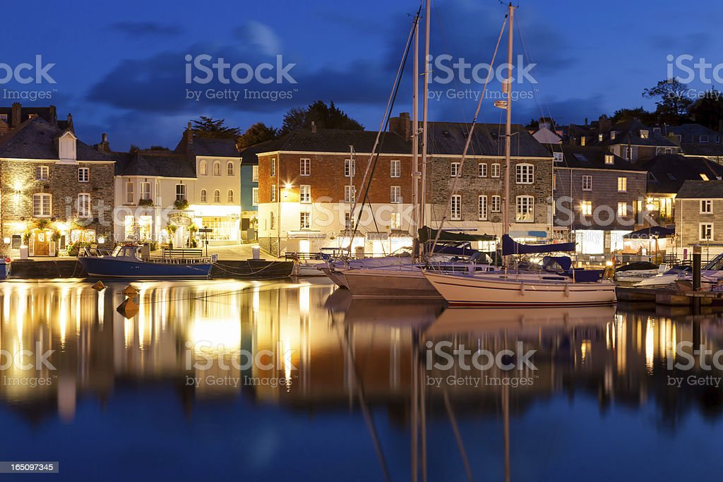Padstow Cornwall stock photo