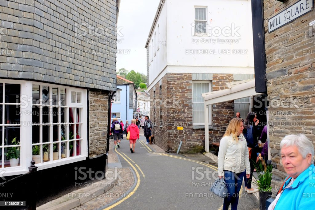 Padstow, Cornwall. stock photo