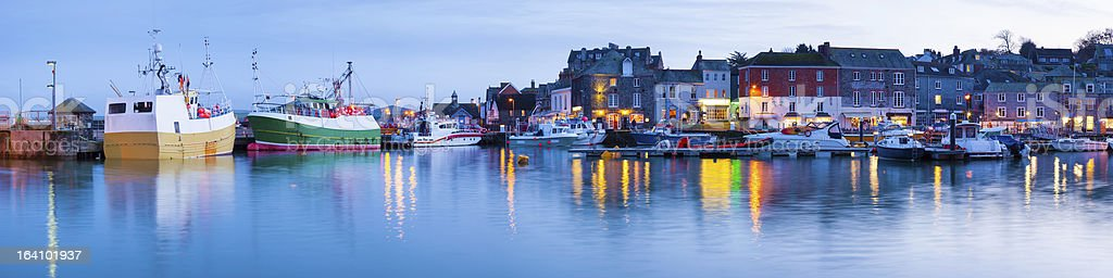 Padstow Harbour royalty-free stock photo
