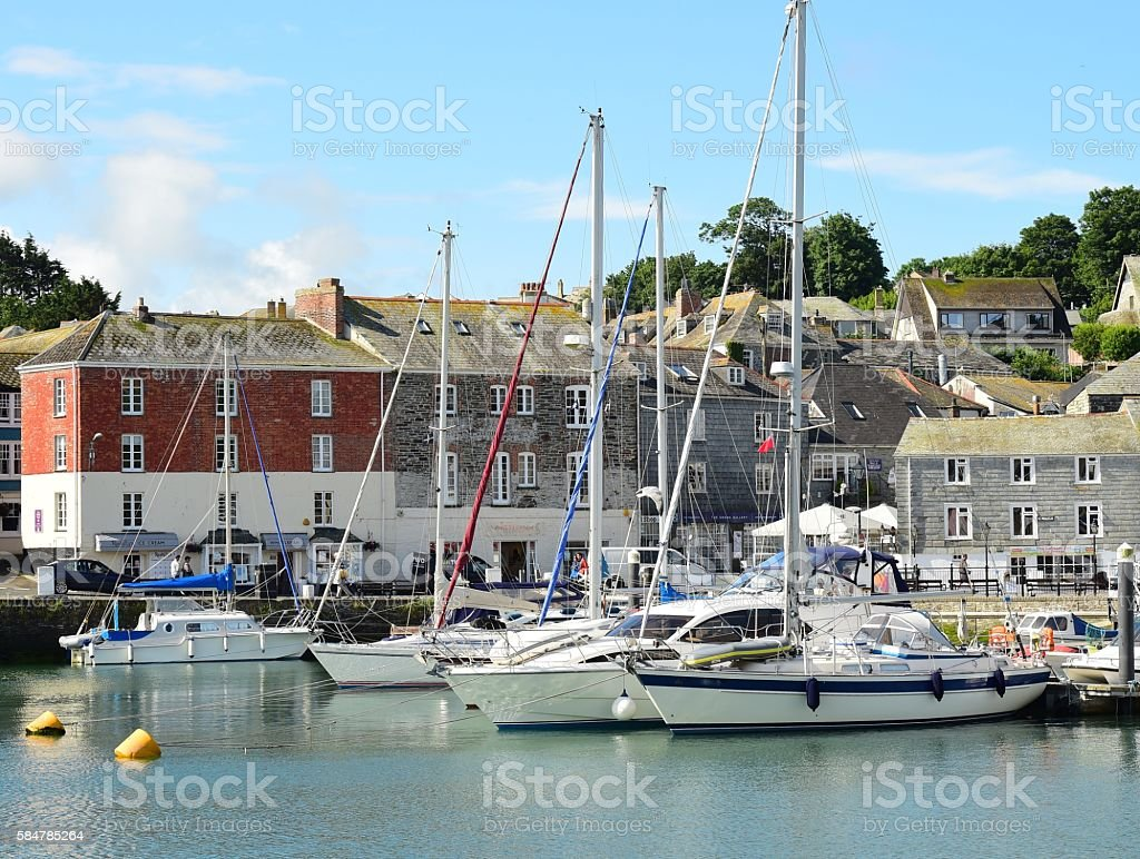 Padstow stock photo