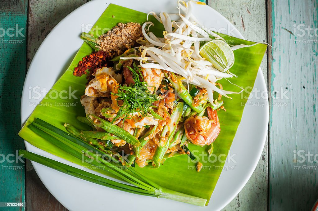 Padthai stock photo
