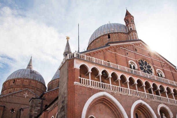 padua basilica of saint anthony - st. anthony of padua stock photos and pictures