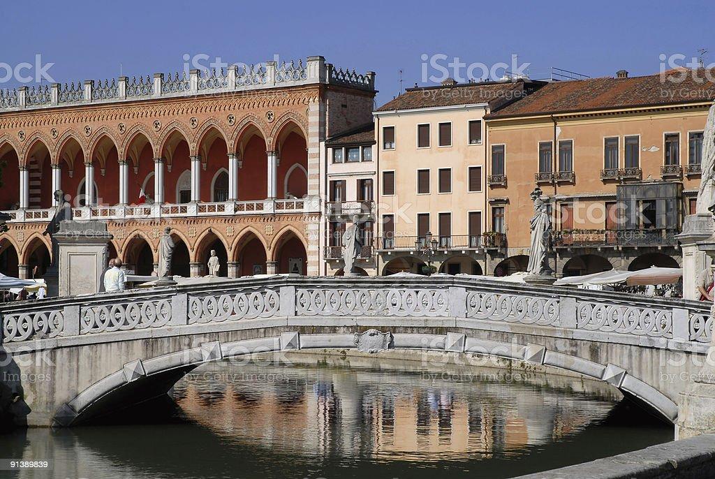 Padua: Bridge royalty-free stock photo