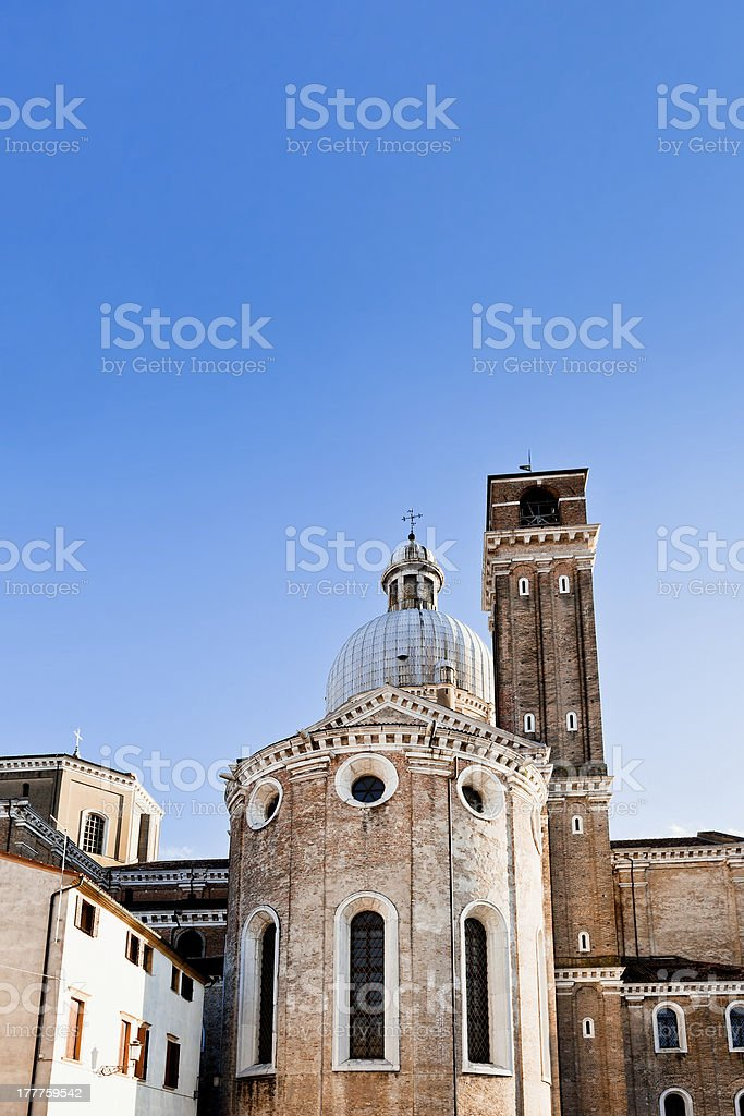 Padua Cathedral, Italy royalty-free stock photo