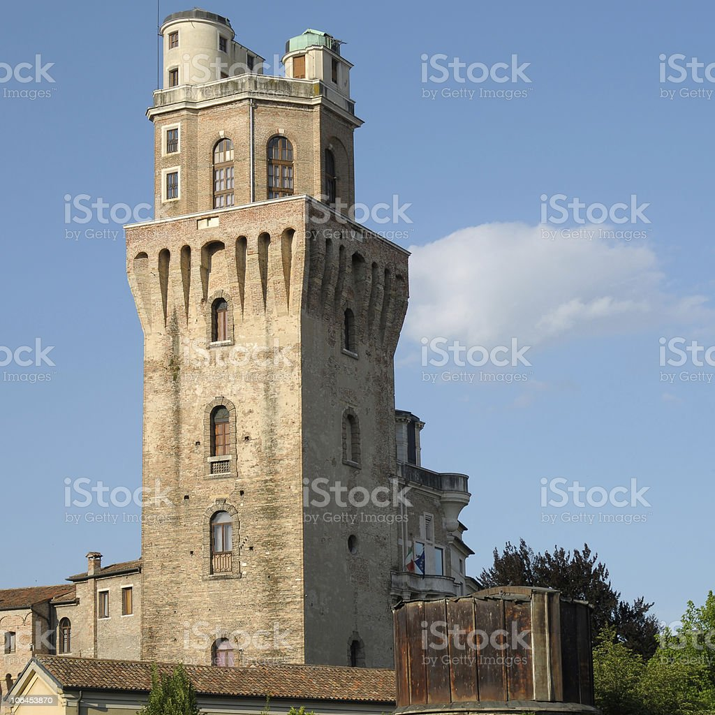 Padua: la Specola stock photo