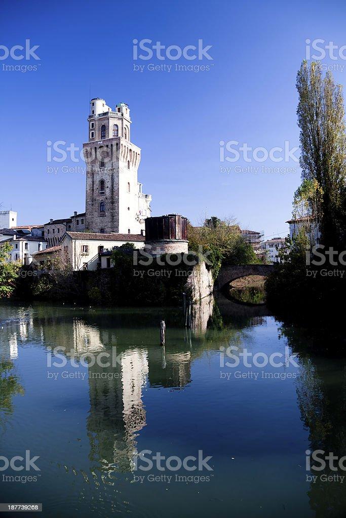 Padua (Italy), 'La Specola' stock photo