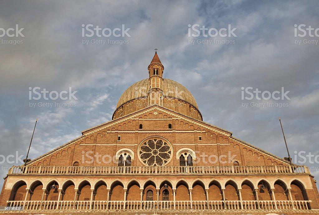 Padua: St.Anthony Basilica stock photo