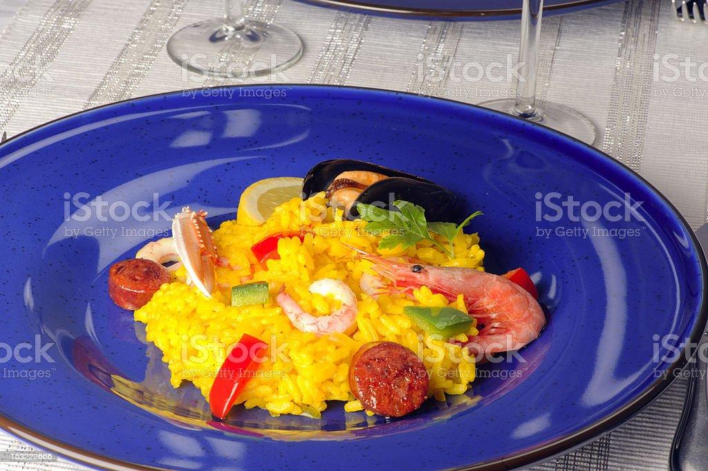 Paella royalty-free stock photo