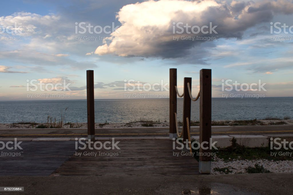 paesaggio di mare royalty-free stock photo