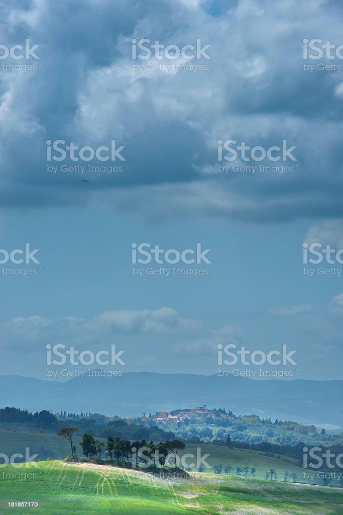 Paesaggio Toscano royalty-free stock photo