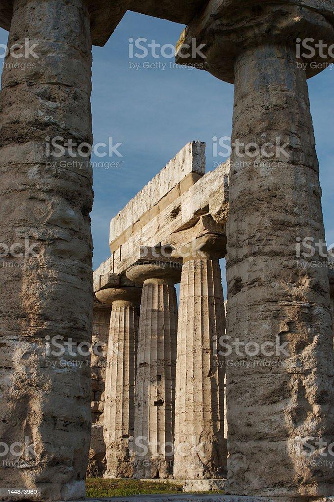 Paestum, Italy royalty-free stock photo