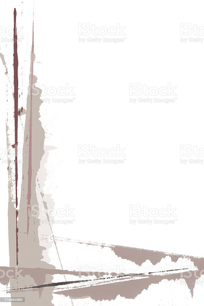 Page Border Painting * royalty-free stock photo