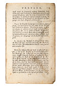 istock Page from old antique book, That the English Langauge 1257280379