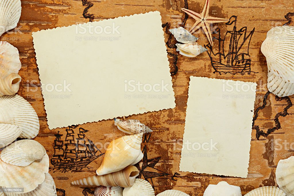 Page of album royalty-free stock photo