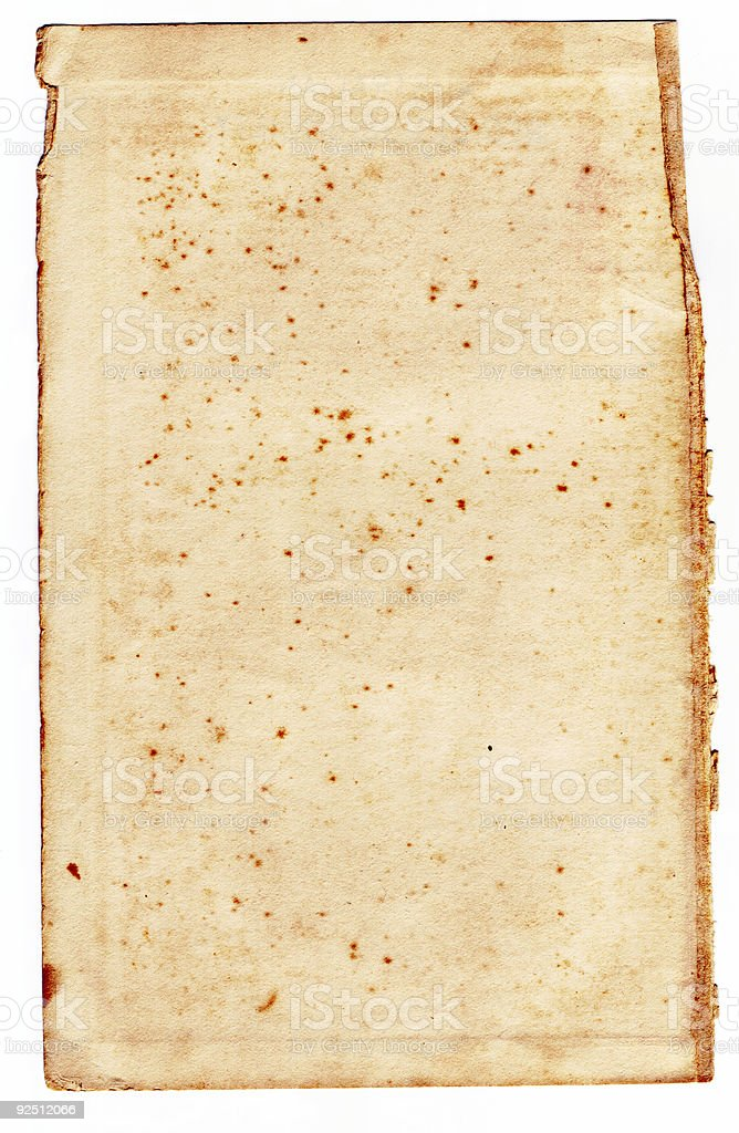 Page stock photo
