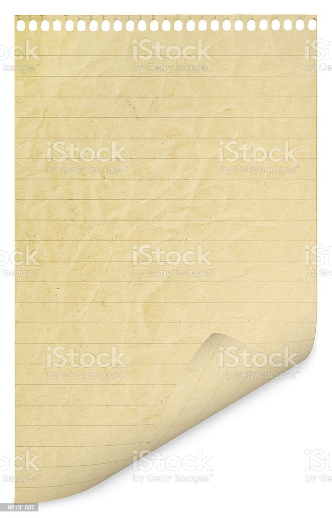 page royalty-free stock photo