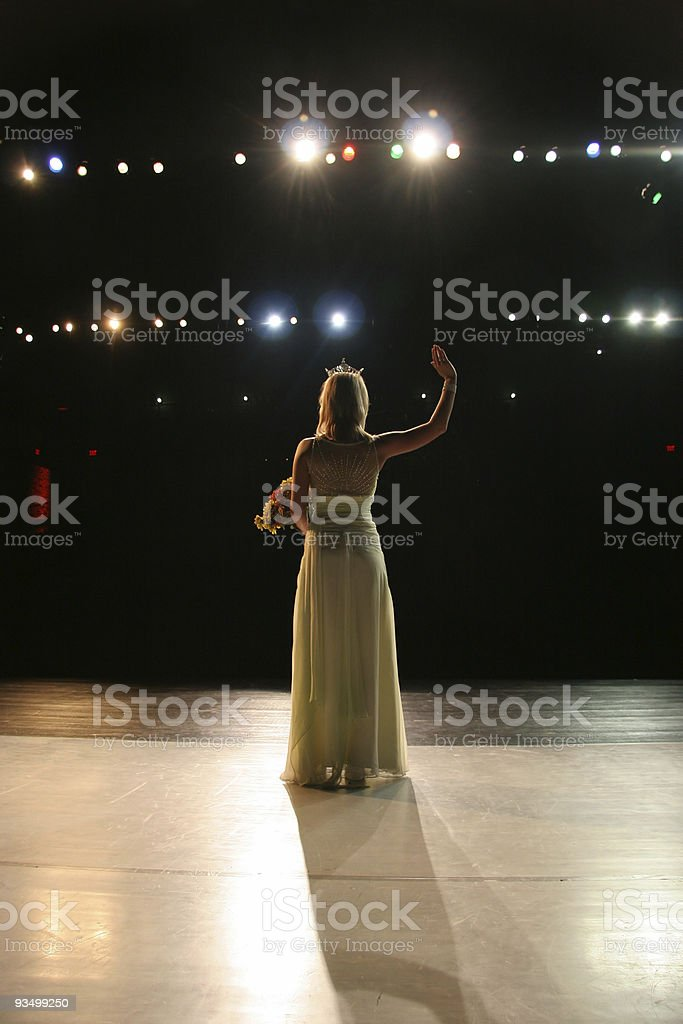 Pageant Farewell stock photo