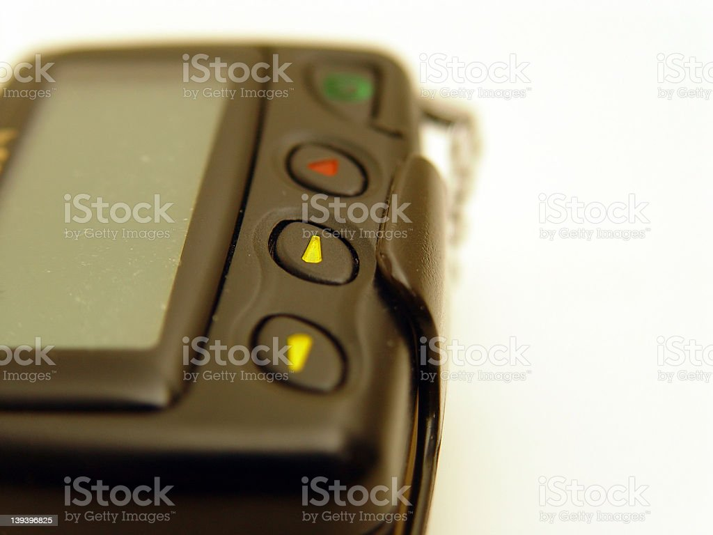 Pager stock photo