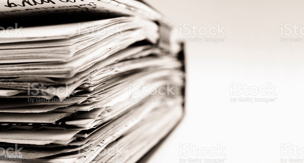 Pages close up royalty-free stock photo