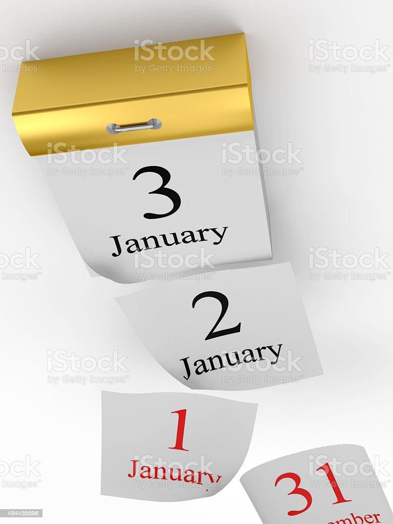 Calendario A Strappo.Pagine Cubi Di Calendario A Strappo Fotografie Stock E