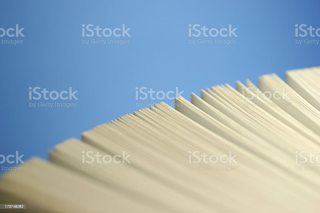 Pages stock photo