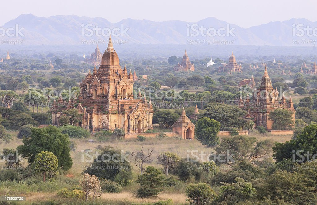 Bagan pagoda ,Myanmar royalty-free stock photo
