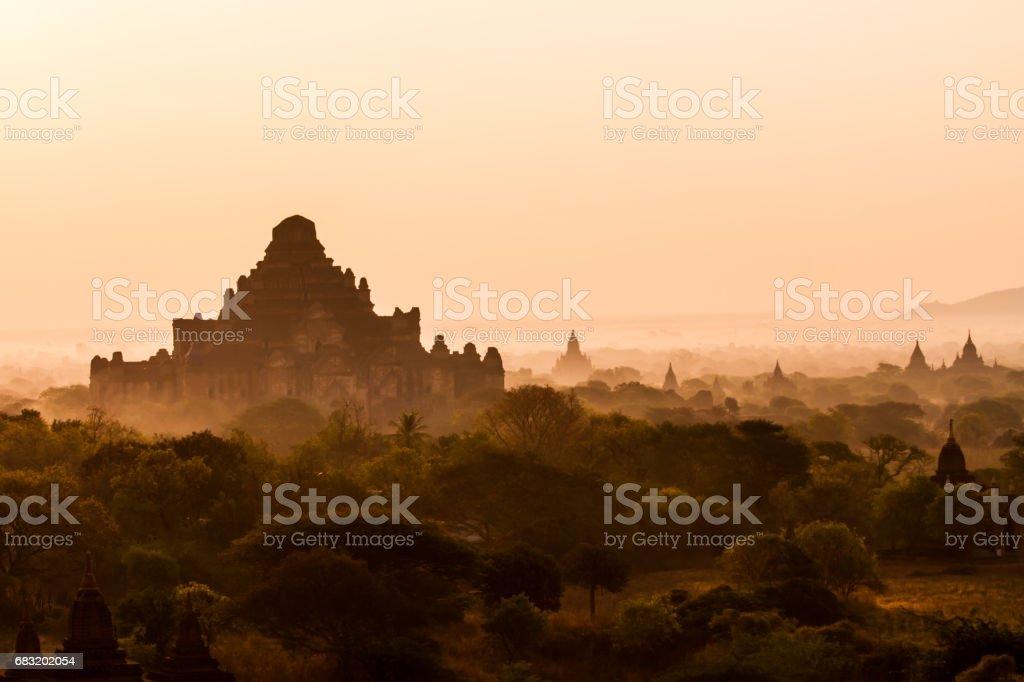탑 인 바간 royalty-free 스톡 사진